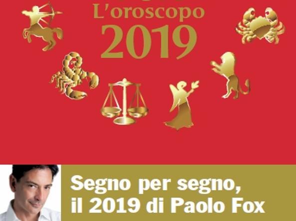 Loroscopo Di Paolo Fox Per Il 2019 Lanno Della Verità Per Molte