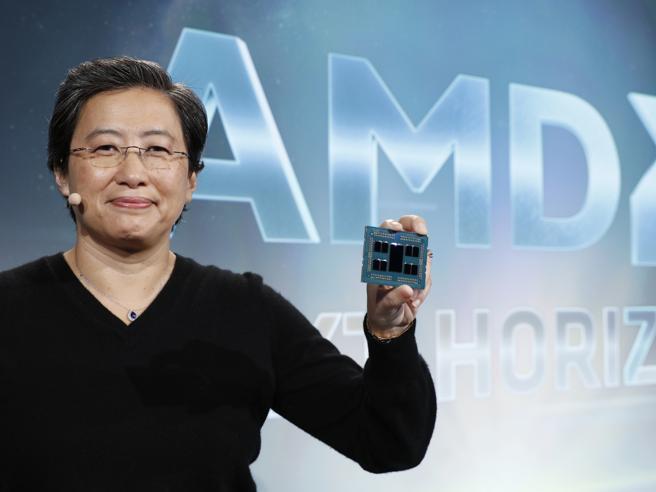 Lisa, la regina dei semiconduttori e la guerra contro Intel e Nvidia