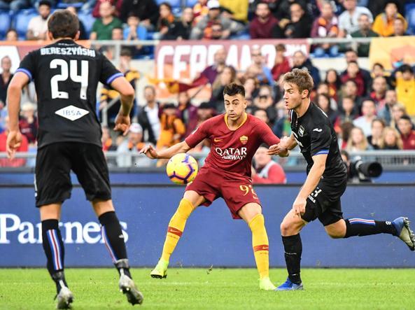El Shaarawy Roma Sampdoria
