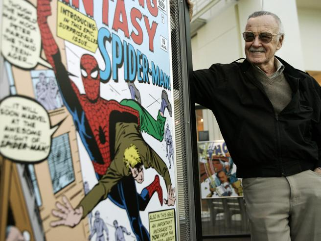Addio a Stan Lee, il papà  dei supereroi  Marvel Video Il su
