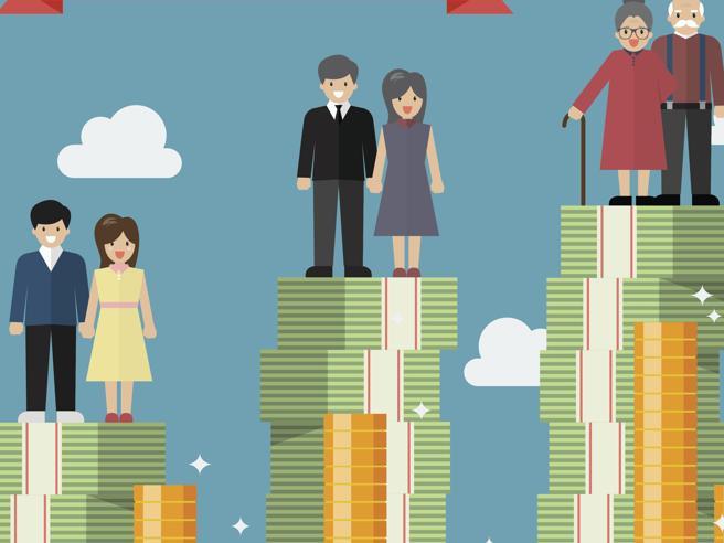 Pensioni ridotte fino a 30% con Quota 100L'analisi: età e  contributi, cosa cambiaCome proteggere l'assegno se il Pil frena