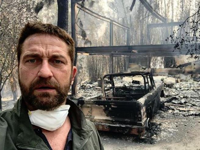 Incendi in California, Gerard Butler e la sua casa distrutta: «È straziante»