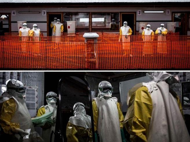 Ebola, dentro la «zona rossa» dove si cura l'epidemia Le foto
