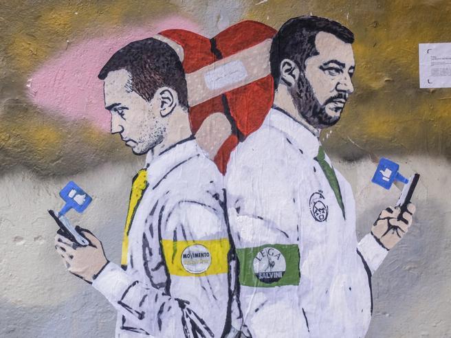 Salvini ora teme l'isolamento dell'Italia in Europa. E si af
