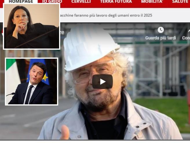Sacchetti bio, ora Grillo promuove l'azienda «amica di Renzi»