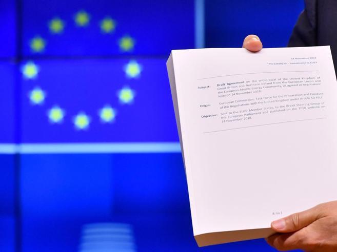 Brexit e l'Unione europea, cosa succede se non c'è un accord