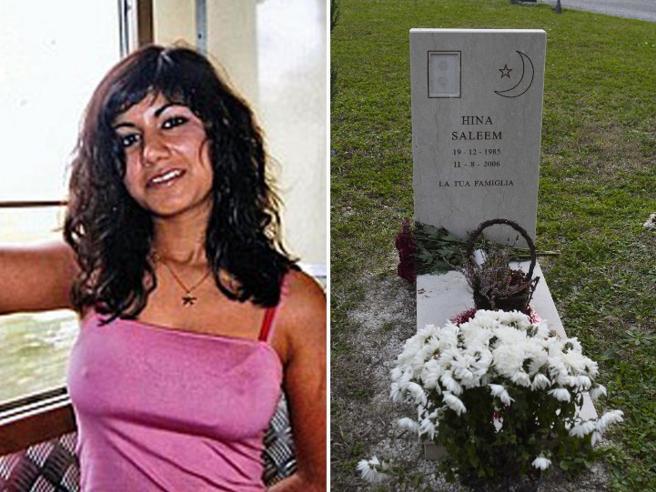 Hina Saleem, il fratello toglie la foto dalla tomba: «Non ri