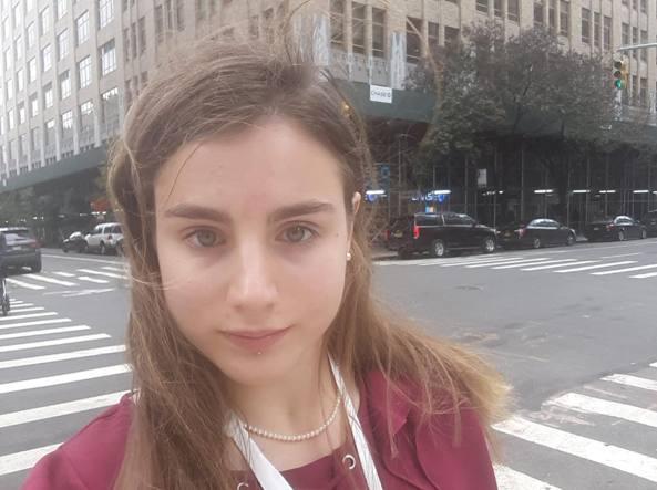 Sofia Guidi, a 18 anni, parla per le donne.  La prima italiana al Ted di New York