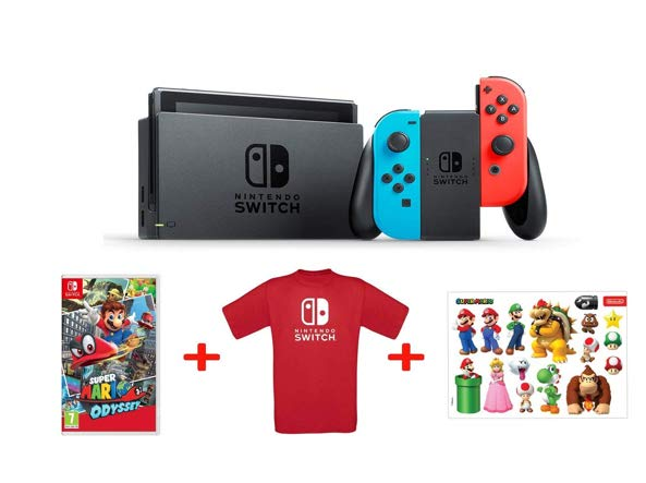 nintendo switch pack mario fnac