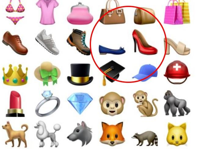 L'emoji ballerina conquista Apple: le scarpe basse sfidano i tacchi