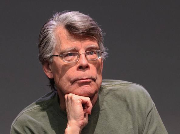 Stephen King nel  2013 a New York City (Foto Jim Spellman/WireImage)