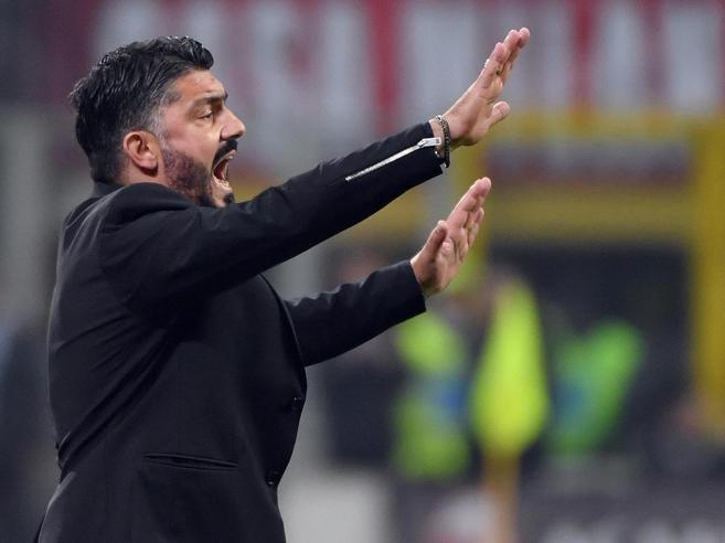 Milan, Gattuso dopo le scuse: «Con Salvini tutto a posto»