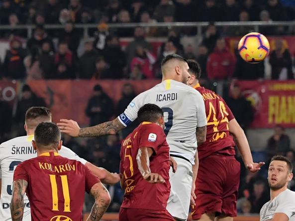 Risultati immagini per roma inter 2-2
