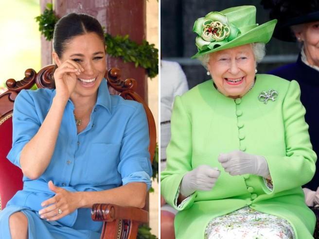 Da Meghan a Elisabetta II. Quando i reali ridono in maniera irresistibile