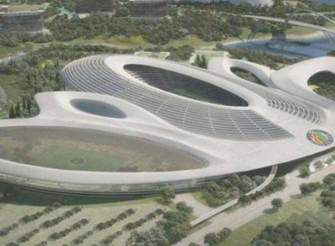 Gli stadi di calcio più strani del mondo Dalla Spagna a Singapore a quelli dei Mondiali in Qatar