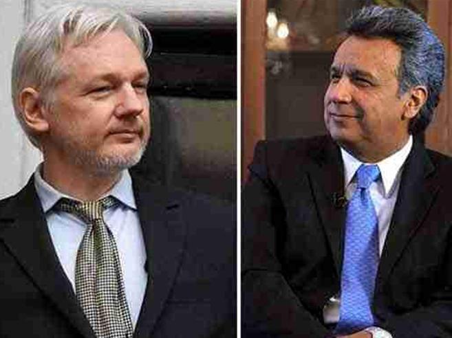 «Assange dovrebbe lasciare la nostra ambasciata»