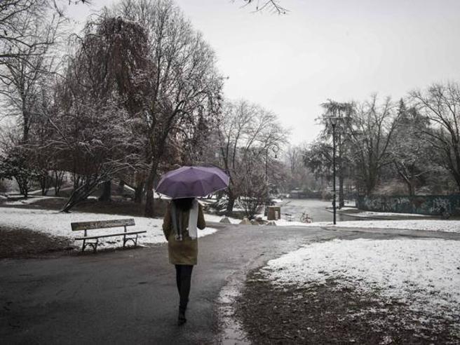 Ponte dell'Immacolata con pioggia e neve, lunedì di freddo polare|Meteo
