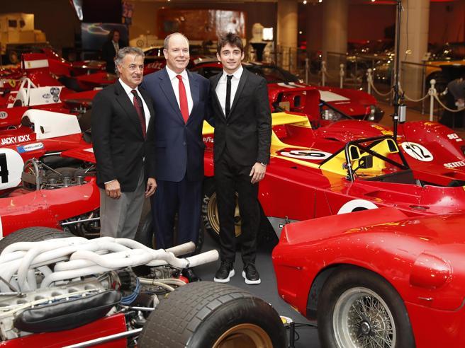 Il principe riunisce a Monaco cinquanta Ferrari entrate nel mito