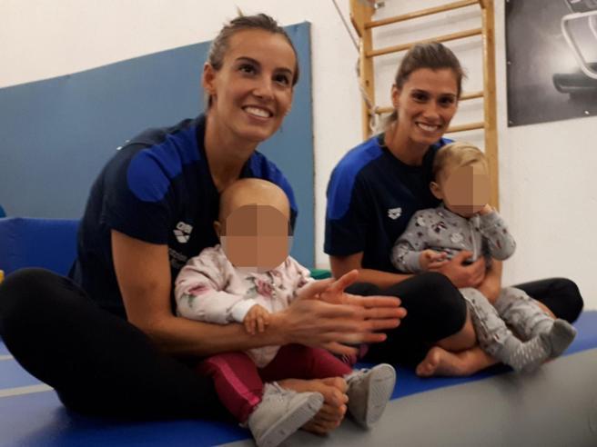 Tuffi: le neo mamme Tania Cagnotto e Francesca Dallapè tornano ad allenarsi e sognano Tokyo 2020