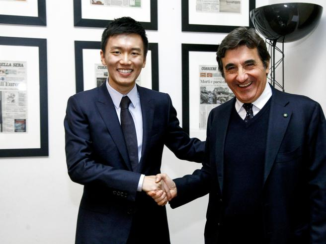 La curiosità di Zhang sospeso tra  Montalee una grande Inter