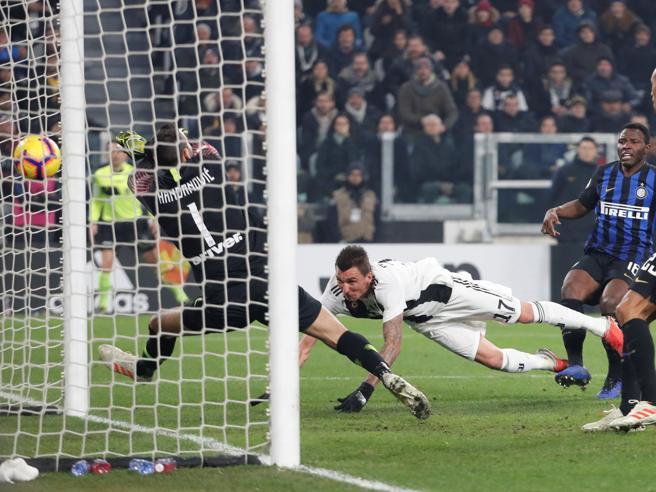 Juventus-Inter 1-0, Mandzukic schiaccia le speranze nerazzurre