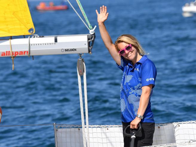Susie Goodall, salvala velista naufragataal largo di Capo Horn