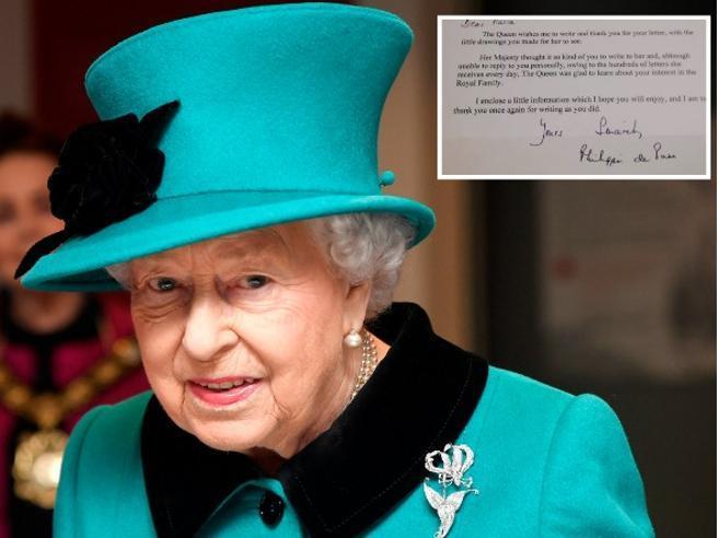 A 9 anni scrive alla Regina Elisabetta. E lei le risponde: «Scrivimi ancora»