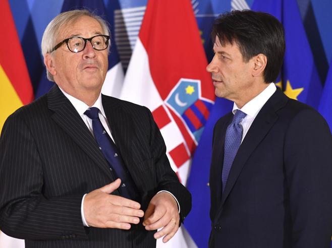 L'offerta dell'Italia alla Ue: tetti di spesa per  pensioni e  reddito di cittadinanzaMa Juncker chiede un taglio di 10 miliardi