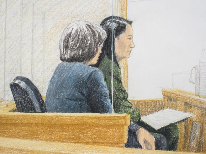 Huawei,  diventa un poliziesco l'arresto della principessa Meng