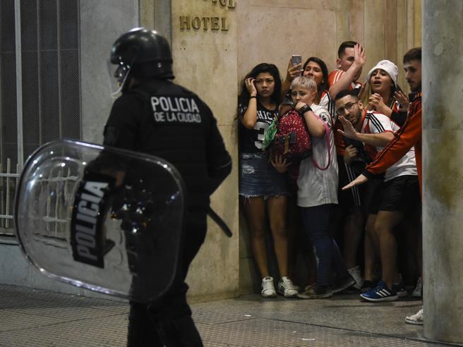 River-Boca 3-1, incidenti a Buenos Aires