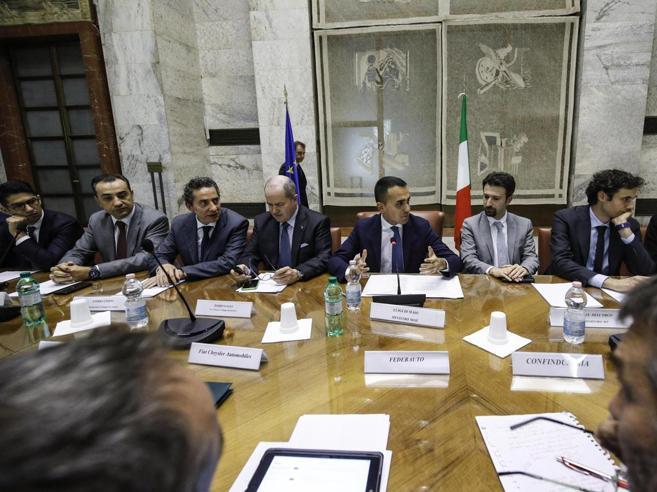 Di Maio incontra le imprese (per la prima volta): con loro un nuovo patto