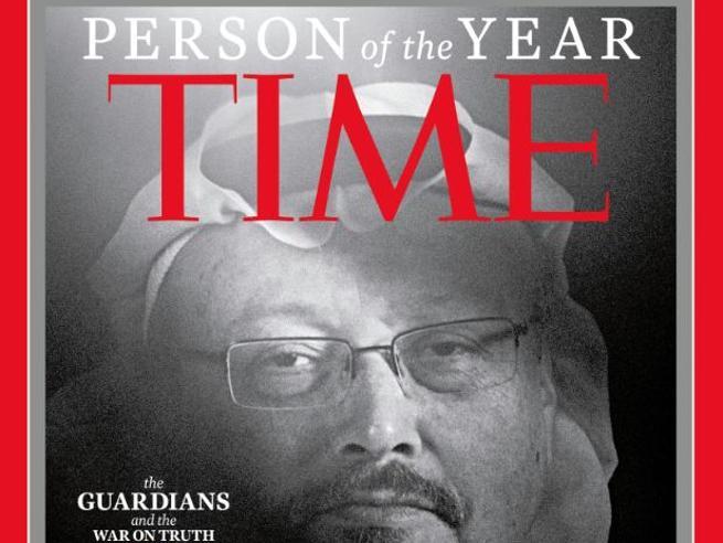 Khashoggi e altri giornalisti persone dell'anno per il Time