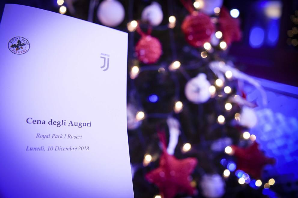 Auguri Di Natale Juventus.Juventusxmas Cena Di Natale Per I Giocatori Della Juve Aspettando