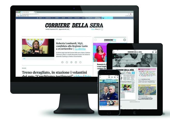 con Corriere Tutto + il secondo abbonamento è in omaggio
