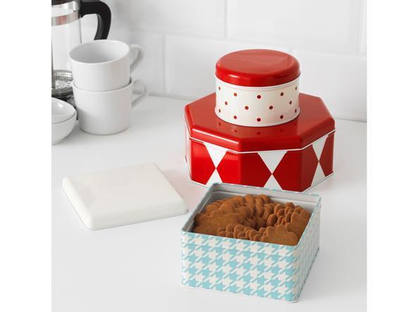 Scatola Latta Biscotti Natale.Contenitori In Latta I 20 Regali Di Natale Gourmet Sotto I 15 Euro Cook