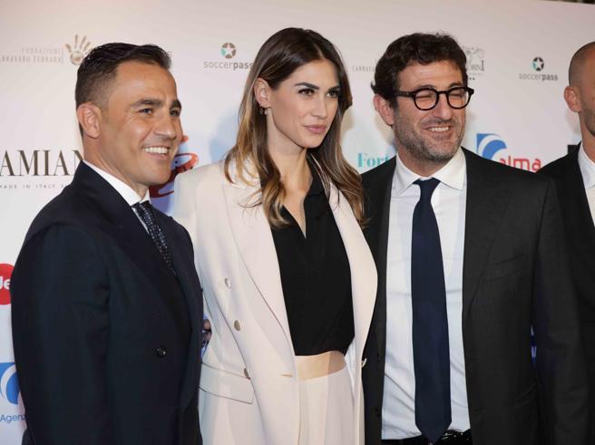 Melissa Satta e Maria Mazza illuminano la charity di Ciro Ferrara e Fabio Cannavaro