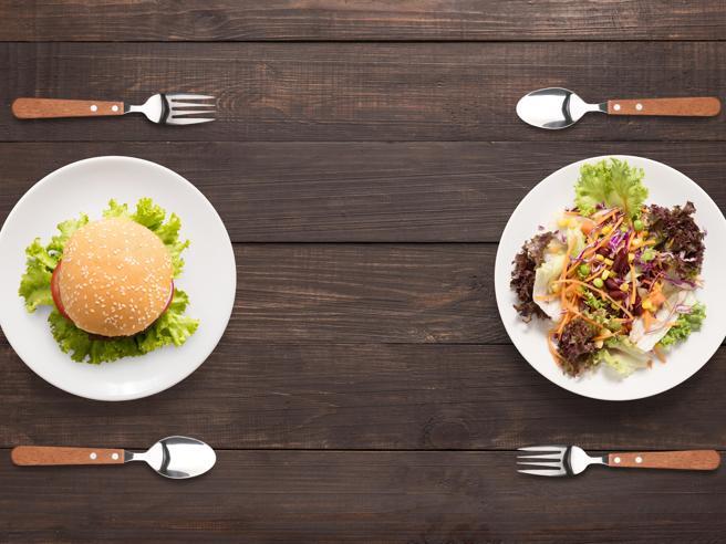 Il ristorante serve pasti più calorici rispetto a quelli del fast-food
