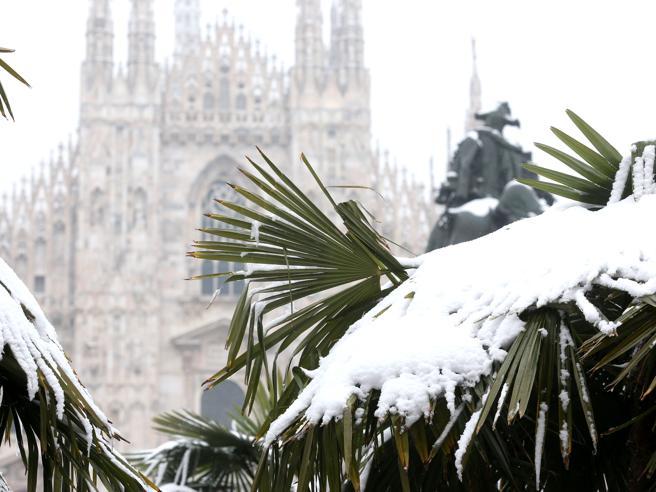 È arrivato il freddo    prevista neve  a Torino e MilanoDa lunedì torna il sole Meteo