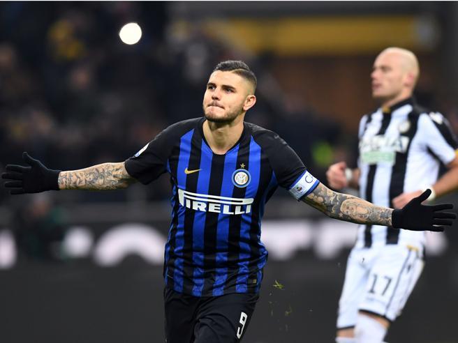 Inter Udinese 1 0: Icardi segna su rigore, la doppietta sfu