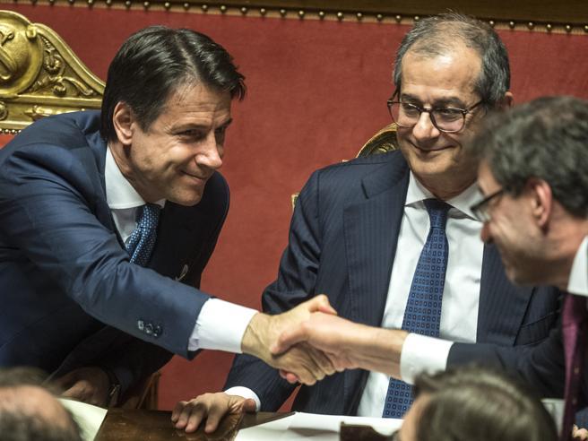 Conte: «Così ho convinto Salvini e Di Maio  Non potevamo permetterci sanzioni Ue»