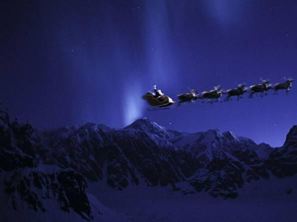 Percorso Babbo Natale.Ecco Come Seguire Il Viaggio Di Babbo Natale Dal Polo Nord Corriere It