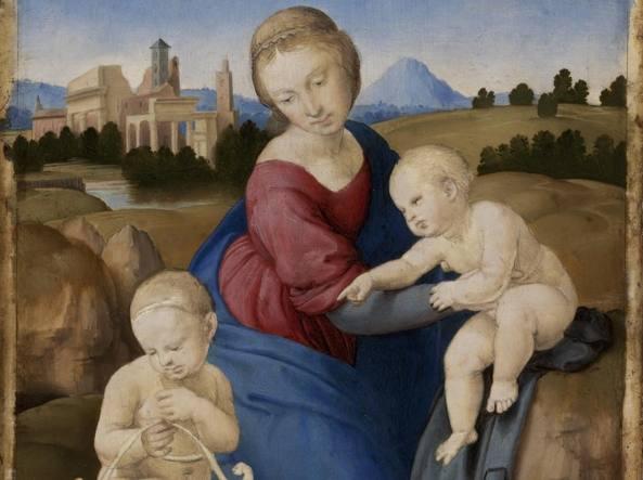 La« Madonna Esterházy» dipinta da Raffaello