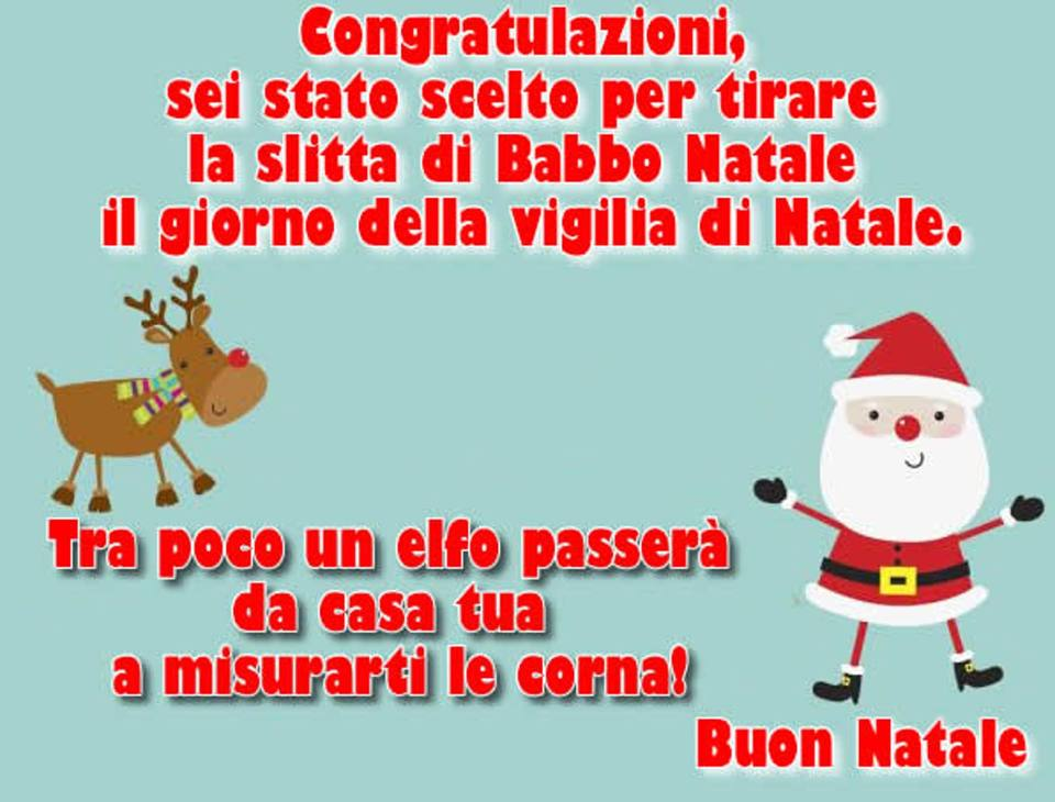 Foto Di Natale Simpatiche.Whatsapp Auguri Di Natale 2018 Frasi E Immagini Divertenti