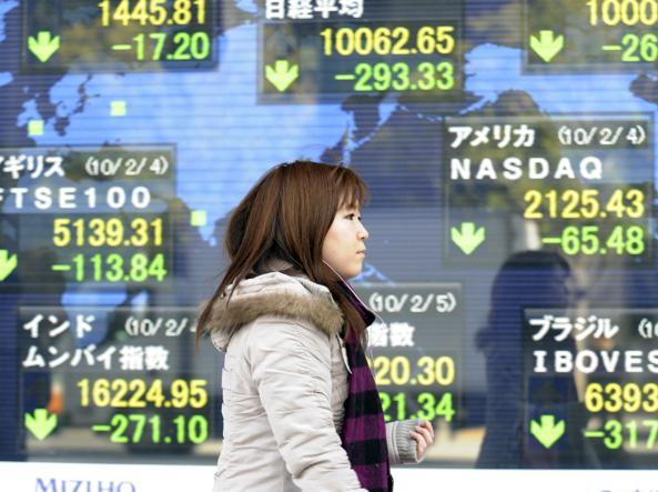 3e10dd7cb3 Borse, Tokyo affonda dopo Wall Street: perde il 5% - Corriere.it