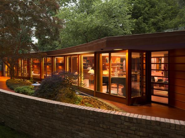 Laurent House dell'architetto Frank Lloyd Wright