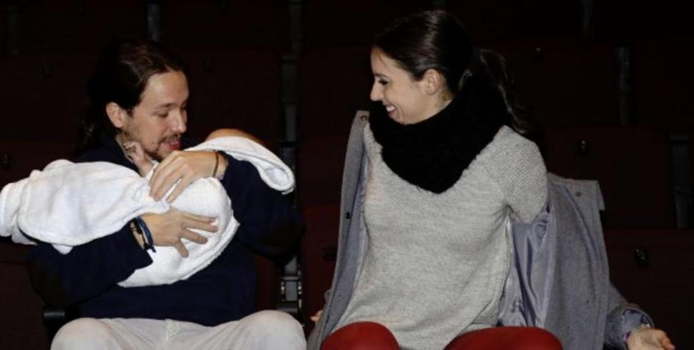 Il leader di Podemos  Iglesias va in paternità: lo sostituisce la moglie