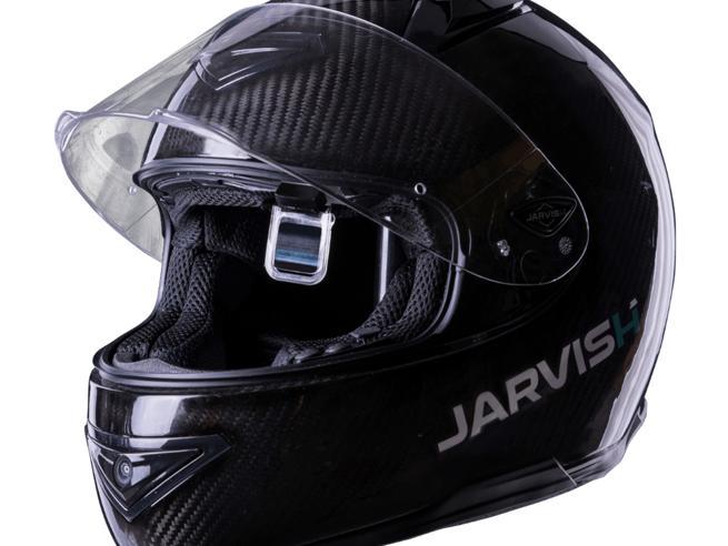 Il casco da moto in realtà aumentata che trasforma la visiera in un cruscotto