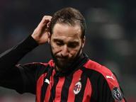 Milan con la Sampdoria, Gattuso si affida a Higuain: «Spero resti, poi vedremo»