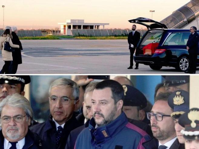 Polemica in Rete: per Battisti a Ciampino i big del governo, per Megalizzi solo Mattarella