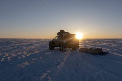Il test Nokian in Groenlandia